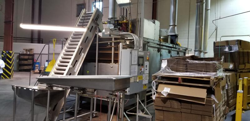 AC Horn & Co. Continuous Nut Roaster Oven, Model Telford 88, S/N 14800, Natural Gas with Infeed - Image 4 of 10