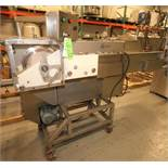 "Carruthers Equipment S/S Dicer, Model AutoSlicer 5100, S/N 51065 with 12"" W Infeed Conveyor and"