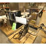 Sato/X-Pak USA Rollfed Labeler, Model XP-A8200, S/N SX052010 with Sato Coder, Model M-8485Se with
