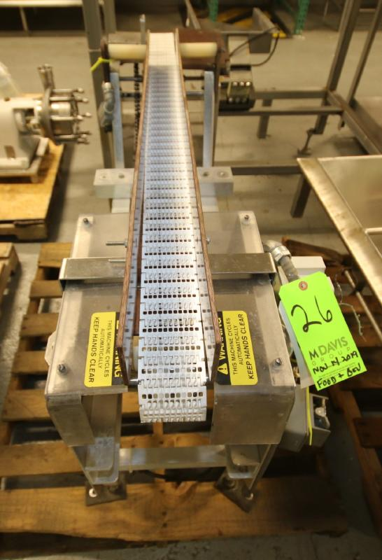 """Goring Kerr Aprox. 4 ft. L x 33"""" H x 3"""" W Belt Aluminum Conveyor Section (Located in Pittsburgh, - Image 2 of 4"""