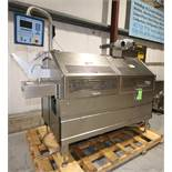"2007 MultiVac S/S Tray Sealer, Model T350, S/N 113105, Set-Up with 3-1/4"" W x 5-1/2"" L 2-Station"