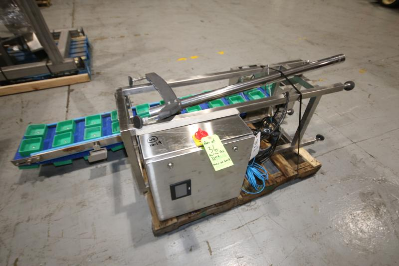 2017 Action Pak 14-Head Rotary Scale, Model MULT 1109-1.6x14, S/N 4594 with PLC Controller with - Image 9 of 12