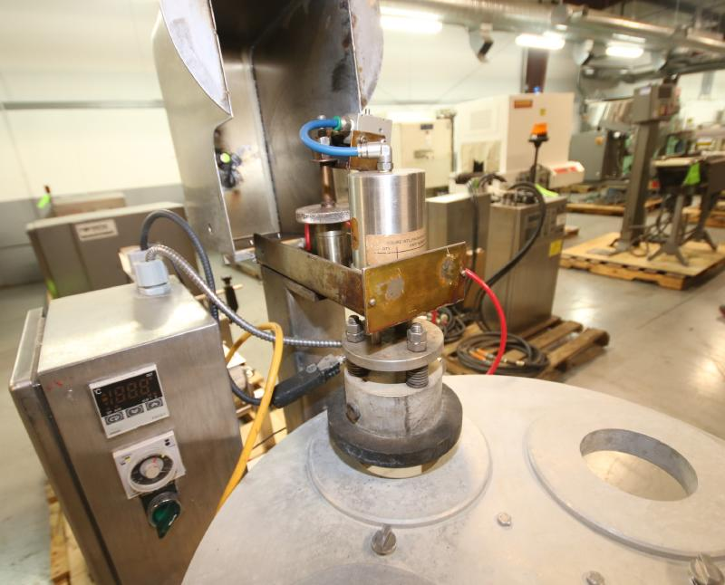 """Squire International Packaging 4-Station Rotary Sealer with 3-1/4"""" Change Parts and Controls, - Image 3 of 5"""