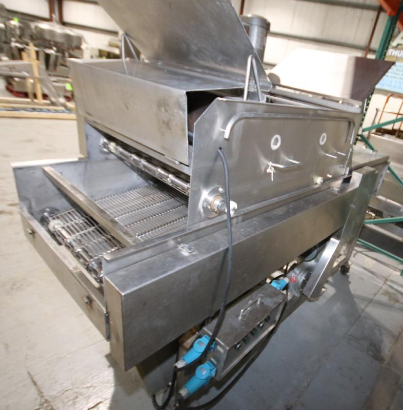 Koppens Batter/Breader, Type EPR600, Machine #PR600-M-1036, 220 V, 3 Phase, Variable Speed Drive, - Image 6 of 10