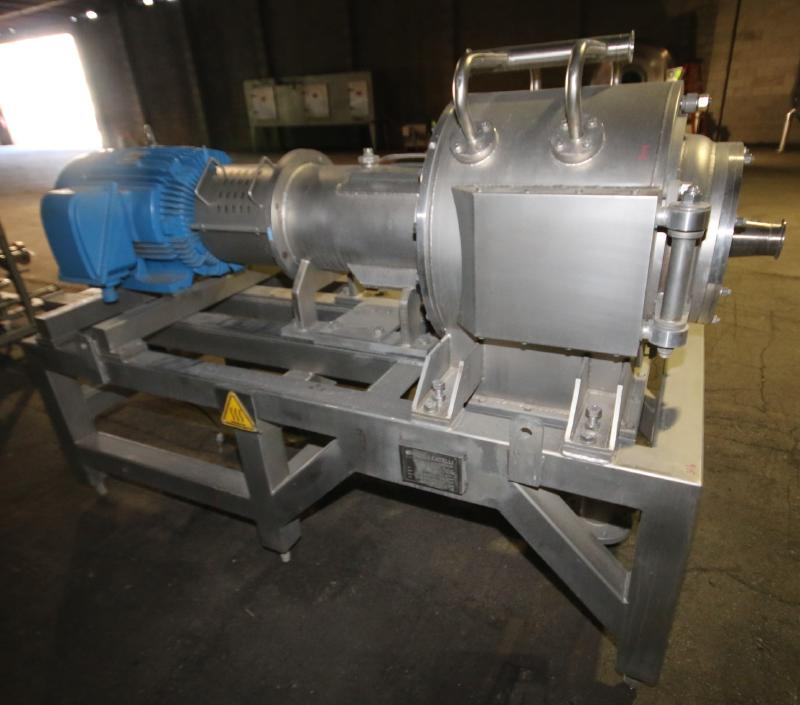 """2008 Rossi & Catelli S/S Cold Extractor, Type GIUBILEO Short, Model ESTRATTORE, S/N 23177 with 3"""" - Image 3 of 7"""
