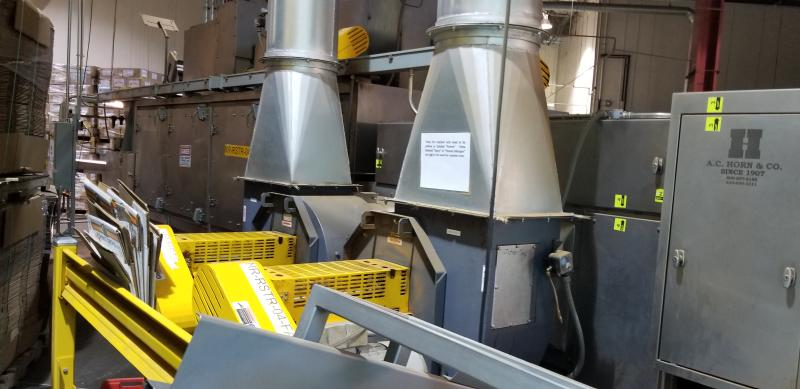 AC Horn & Co. Continuous Nut Roaster Oven, Model Telford 88, S/N 14800, Natural Gas with Infeed - Image 5 of 10