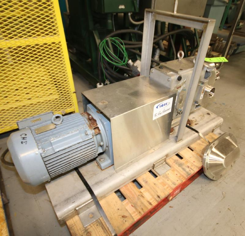 """2015 SPX Positive Displacement Pump, Model 180 U2, SN 1000003046356, with 3"""" Clamp Type S/S Head, - Image 4 of 5"""