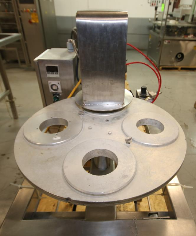 """Squire International Packaging 4-Station Rotary Sealer with 3-1/4"""" Change Parts and Controls, - Image 2 of 5"""