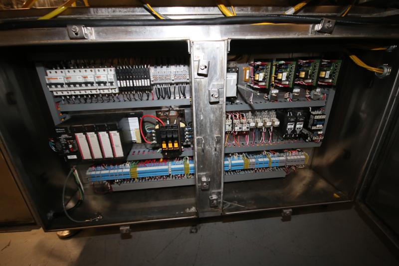 """Orics 8-Station Round Tamper Evident Sealer, Model SLSVGF-R20, S/N SCF9981, Set-Up with 6-1/2"""" W - Image 10 of 11"""