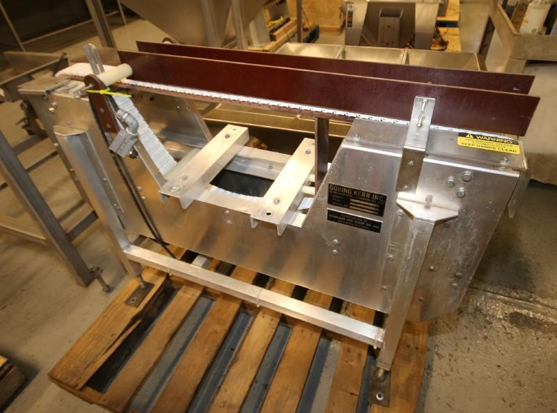 """Goring Kerr Aprox. 4 ft. L x 33"""" H x 3"""" W Belt Aluminum Conveyor Section (Located in Pittsburgh, - Image 3 of 4"""
