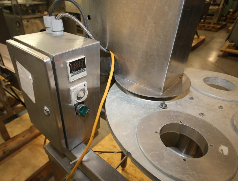 """Squire International Packaging 4-Station Rotary Sealer with 3-1/4"""" Change Parts and Controls, - Image 4 of 5"""