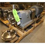 "Fristam Multi Stage High Pressure S/S Centrifugal Pump, Model FM312-175, SN 72255, with 2.5"" Clamp"