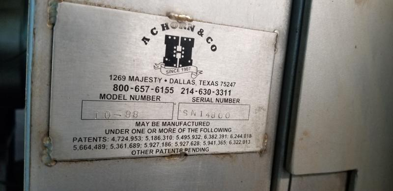 AC Horn & Co. Continuous Nut Roaster Oven, Model Telford 88, S/N 14800, Natural Gas with Infeed - Image 6 of 10