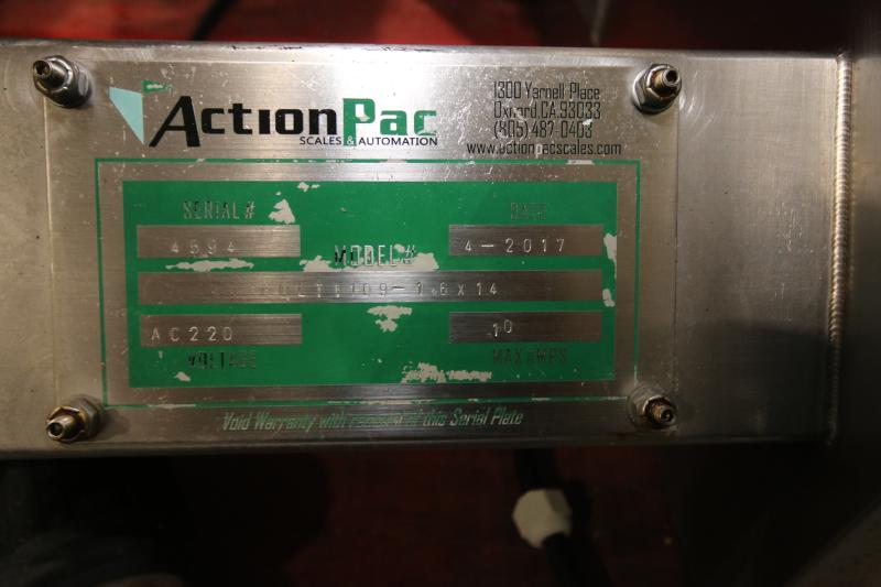 2017 Action Pak 14-Head Rotary Scale, Model MULT 1109-1.6x14, S/N 4594 with PLC Controller with - Image 7 of 12