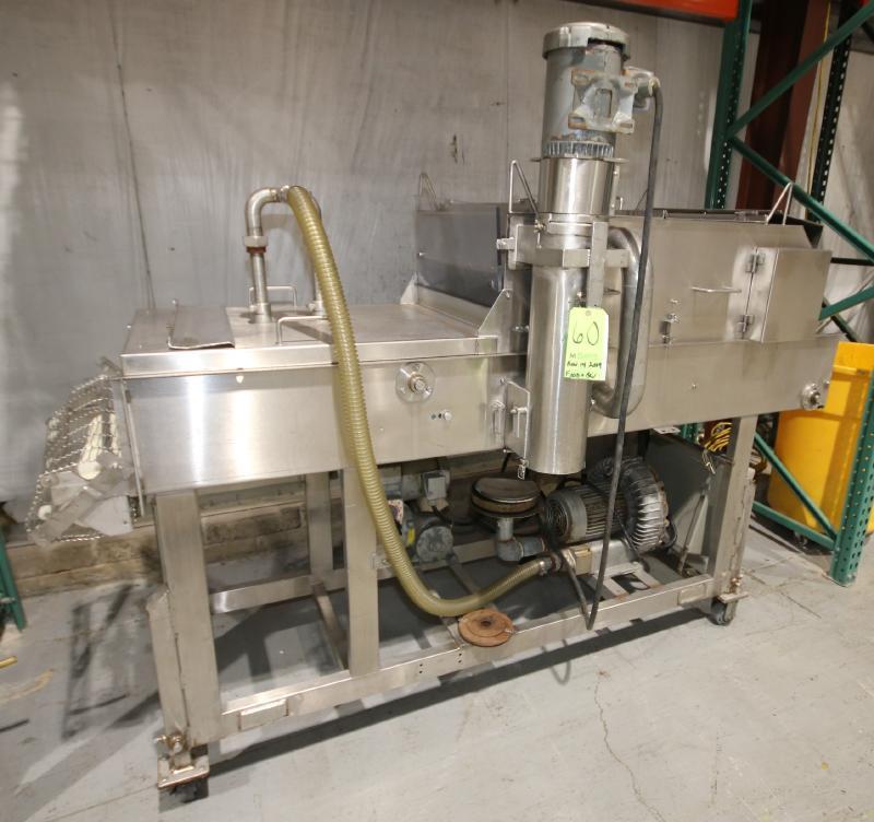 Koppens Batter/Breader, Type EPR600, Machine #PR600-M-1036, 220 V, 3 Phase, Variable Speed Drive,