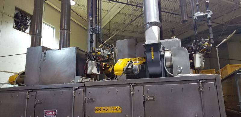 AC Horn & Co. Continuous Nut Roaster Oven, Model Telford 88, S/N 14800, Natural Gas with Infeed - Image 2 of 10