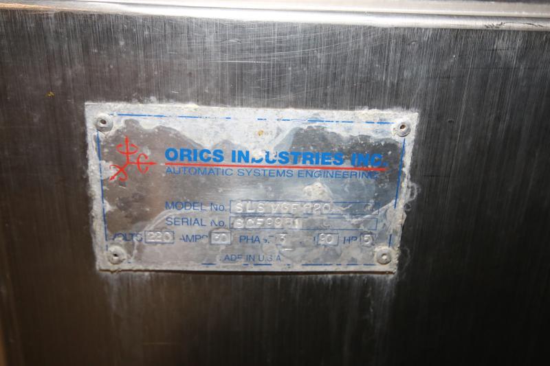 """Orics 8-Station Round Tamper Evident Sealer, Model SLSVGF-R20, S/N SCF9981, Set-Up with 6-1/2"""" W - Image 11 of 11"""