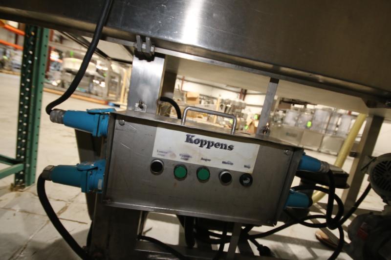 Koppens Batter/Breader, Type EPR600, Machine #PR600-M-1036, 220 V, 3 Phase, Variable Speed Drive, - Image 8 of 10
