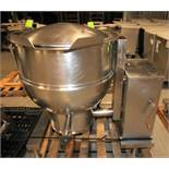 Groen 60 Gal. Tilt Kettle, Model DEE/4T-60, S/N 37173, Jacketed Rated @ 50 PSI @ 300 Degree F (Asset