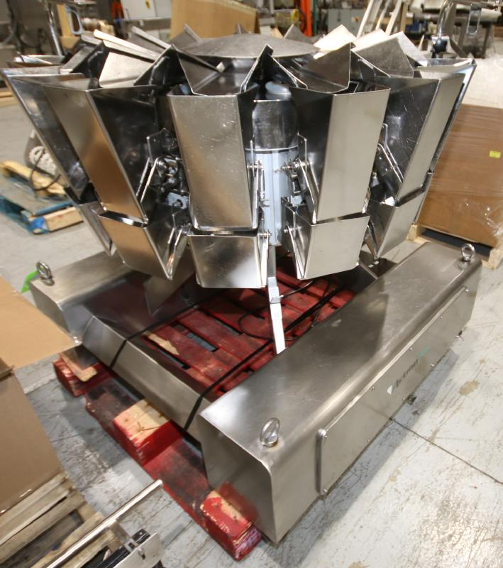2017 Action Pak 14-Head Rotary Scale, Model MULT 1109-1.6x14, S/N 4594 with PLC Controller with - Image 5 of 12