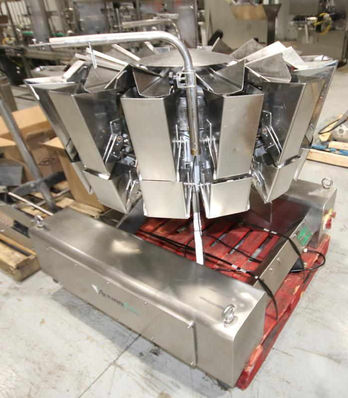 2017 Action Pak 14-Head Rotary Scale, Model MULT 1109-1.6x14, S/N 4594 with PLC Controller with - Image 4 of 12