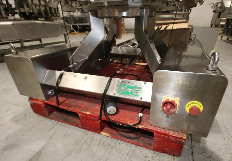 2017 Action Pak 14-Head Rotary Scale, Model MULT 1109-1.6x14, S/N 4594 with PLC Controller with - Image 6 of 12