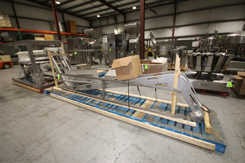 BULK BID LOT #35 TO LOT #39 INCLUDES: 2017 PACKLINE 4-WIDE CUP FILLER, 14-HEAD ROTARY SCALE, S/S - Image 3 of 3