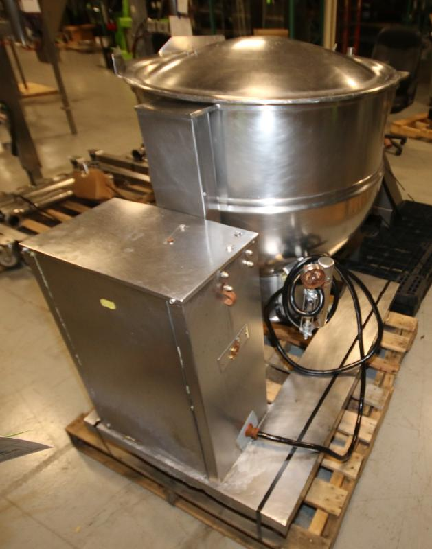 Groen 60 Gal. Tilt Kettle, Model DEE/4T-60, S/N 37173, Jacketed Rated @ 50 PSI @ 300 Degree F (Asset - Image 6 of 7