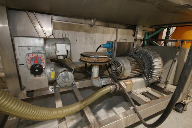 Koppens Batter/Breader, Type EPR600, Machine #PR600-M-1036, 220 V, 3 Phase, Variable Speed Drive, - Image 9 of 10