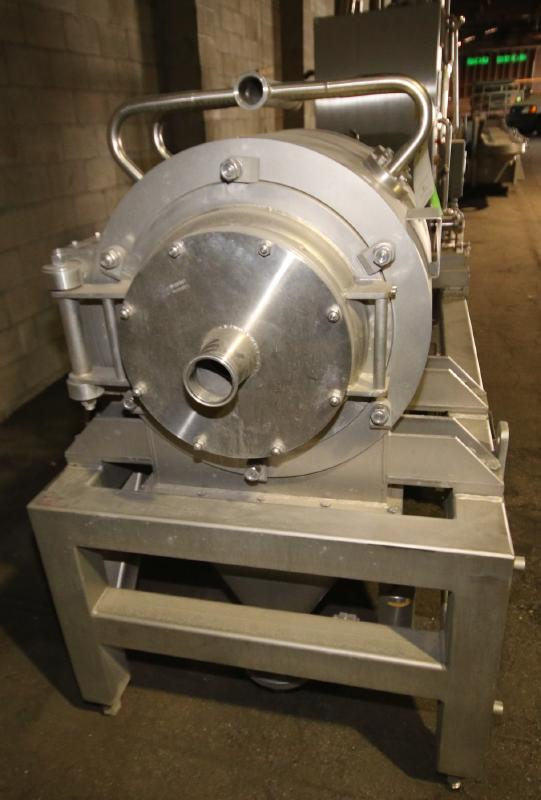 """2008 Rossi & Catelli S/S Cold Extractor, Type GIUBILEO Short, Model ESTRATTORE, S/N 23177 with 3"""" - Image 2 of 7"""