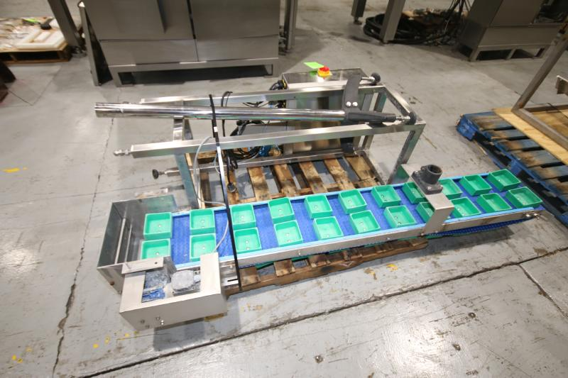 2017 Action Pak 14-Head Rotary Scale, Model MULT 1109-1.6x14, S/N 4594 with PLC Controller with - Image 10 of 12