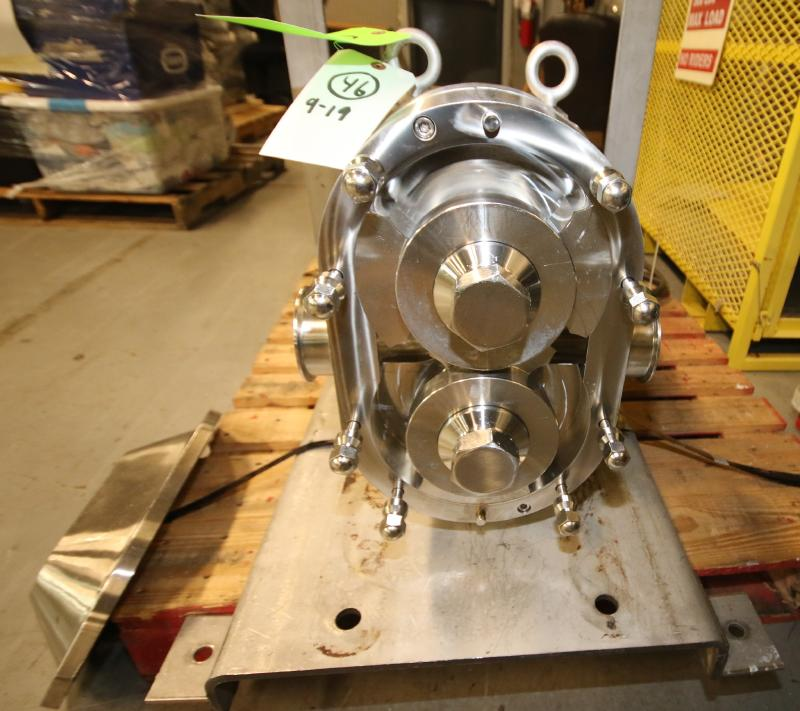"""2015 SPX Positive Displacement Pump, Model 180 U2, SN 1000003046356, with 3"""" Clamp Type S/S Head, - Image 2 of 5"""