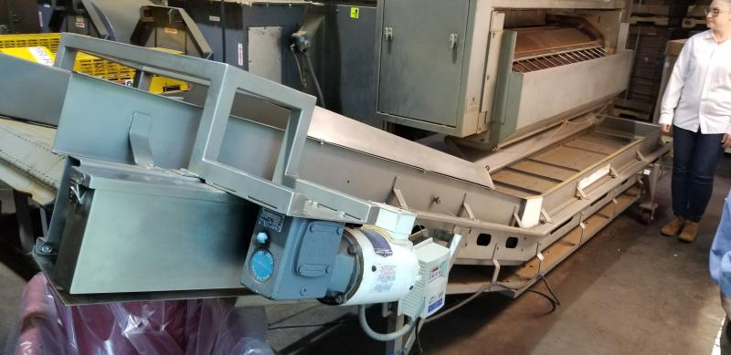 AC Horn & Co. Continuous Nut Roaster Oven, Model Telford 88, S/N 14800, Natural Gas with Infeed - Image 9 of 10