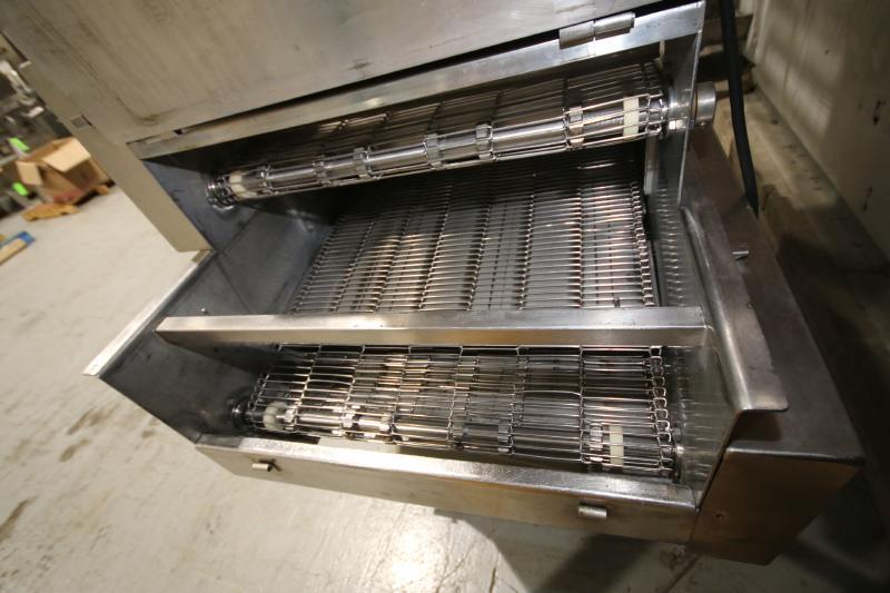 Koppens Batter/Breader, Type EPR600, Machine #PR600-M-1036, 220 V, 3 Phase, Variable Speed Drive, - Image 7 of 10