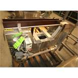 "Goring Kerr Aprox. 4 ft. L x 33"" H x 3"" W Belt Aluminum Conveyor Section (Located in Pittsburgh,"