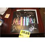 Shiny Toy Guns Signed Poster