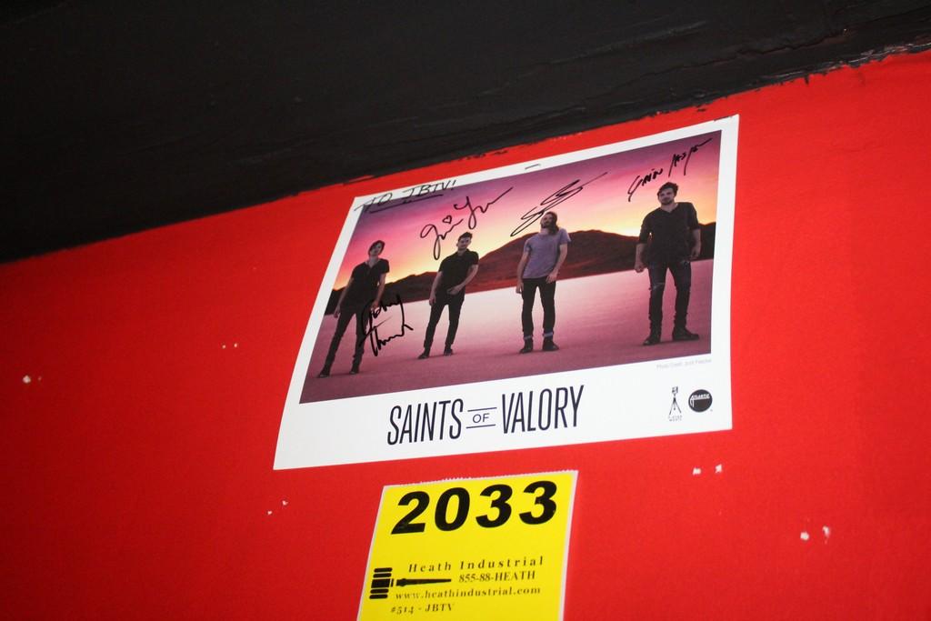 Saints of Valory Signed Photo