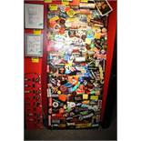JBTV Studio Door With Visiting Band Stickers from 1984-2007