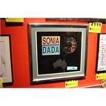 """Sonia Dada """"You Dont Treat Me No Good"""" Framed CD and Poster"""