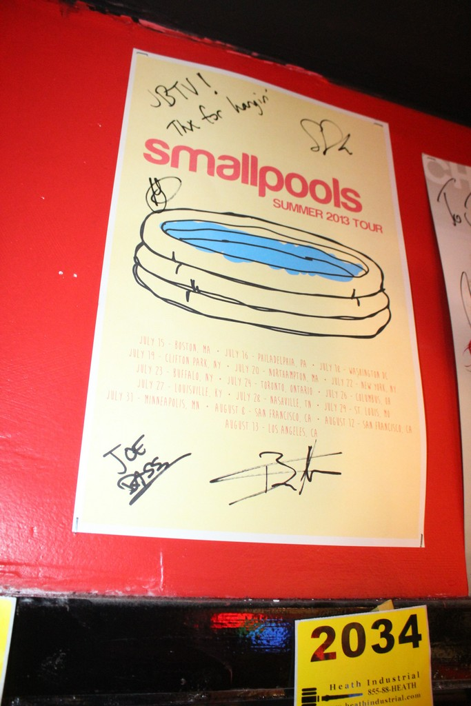 Smallpools Signed Poster