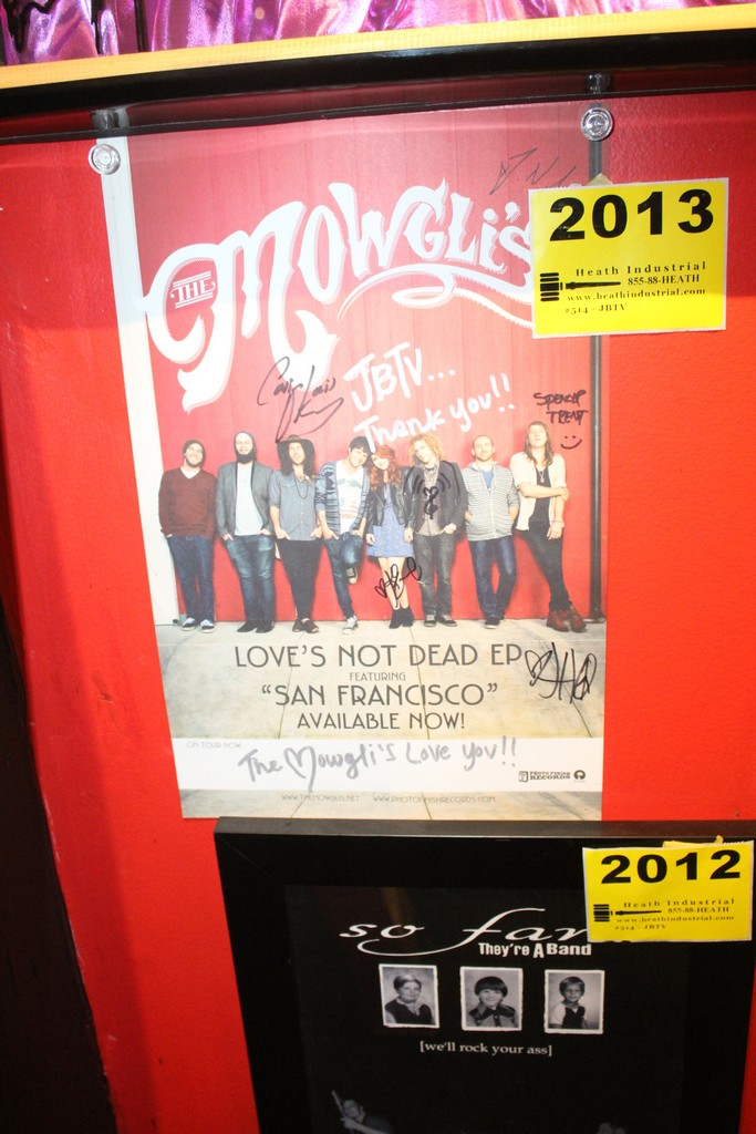 Mowgli's Signed Poster