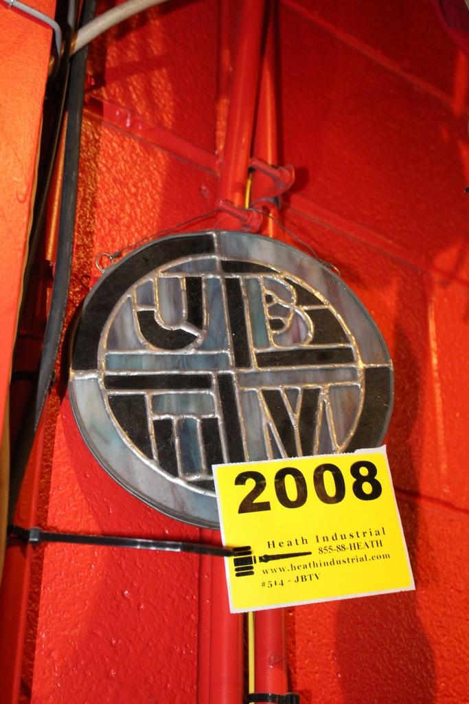 JBTV Stained Glass Window Decoration