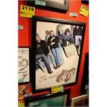OK Go Signed Framed Poster