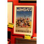 The Wombats Signed Framed Poster