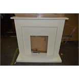 *Eight Ivory MDF Fire Surrounds