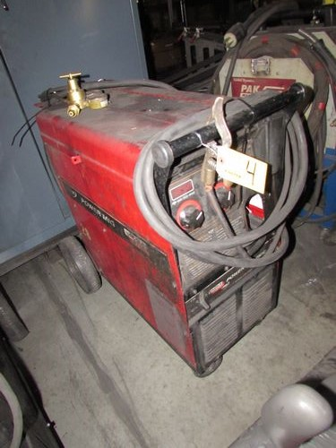 Lincoln mig welder 255c manual