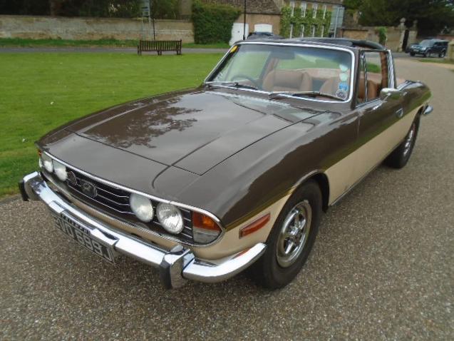 Los 12 - 1971 Triumph Stag Mk1 manual.