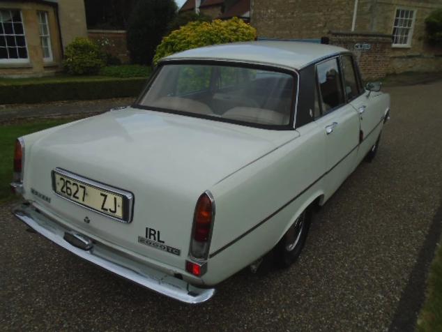 Los 16 - 1973 Rover P6 2000 TC