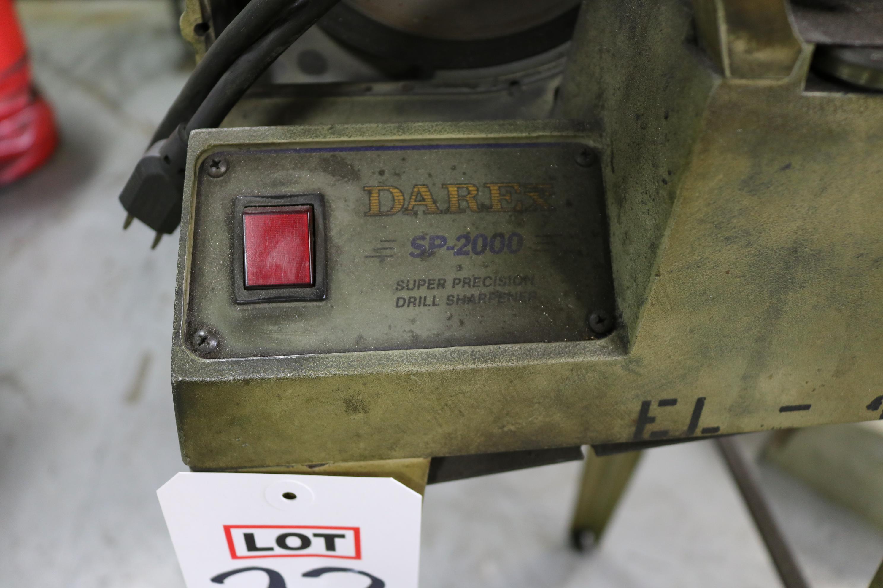 Lot 23 - DAREX SP-2000 TOOL SHARPENER