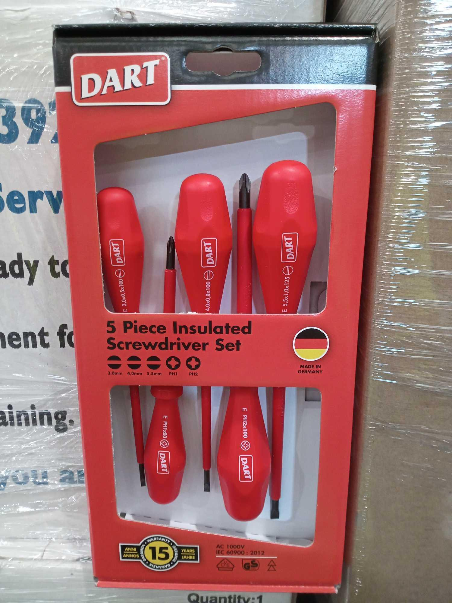 RRP £30 Boxed Brand New 5 Pcs Insulated Screwdriver Sets - Image 2 of 2